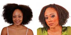 Evan's Makeover - Brunette, Medium hair styles, Kinky hair, Twist hairstyles, Female, Makeovers, Adult hair hairstyle picture