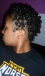 finger coils 3c twa - Very short hair styles