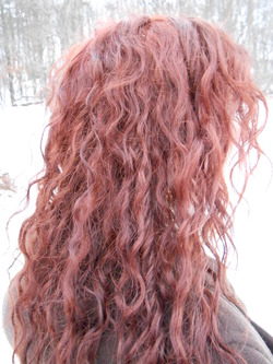Winter Wavy Curly -  hairstyle picture