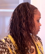 micro braids - Curly kinky hair
