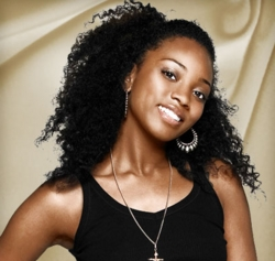 Bre, America's Top Model - Brunette, 3c, Celebrities, Medium hair styles, Kinky hair, Female hairstyle picture