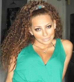 bahareh curly - Celebrities, Medium hair styles, Readers, Makeovers, Homecoming hairstyles hairstyle picture