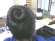 seashell bun - Homecoming hairstyles