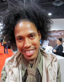 Curly Man from ISSE - 4a, 4b, Male, Medium hair styles, Kinky hair, Styles hairstyle picture