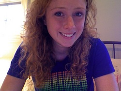 naturally curly! - Redhead, 3a, Long hair styles, Readers, Curly hair, Teen hair hairstyle picture