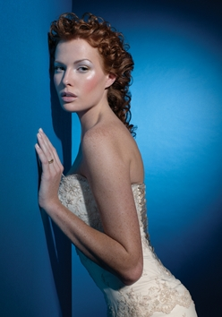 Aquage: Wedding Look - Redhead, 3a, Updos, Long hair styles, Wedding hairstyles, Styles, Special occasion, Female hairstyle picture