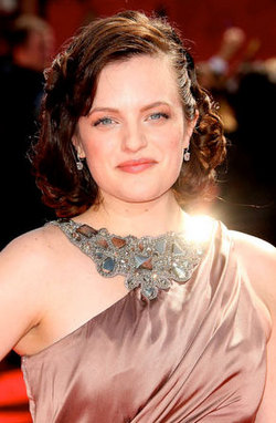 Elizabeth Moss - Redhead, Celebrities, Wavy hair, Medium hair styles, Female, 2009 Emmy Awards hairstyle picture