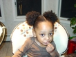 my afro puff son - Male