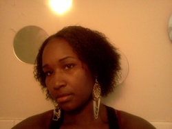 My natural hair.... - 3b, 3c, Short hair styles, Medium hair styles, Styles, Female, Curly hair, Black hair, Adult hair, Braid out hairstyle picture