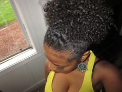 MY PUFF - 3b, 3a, 3c, 4a, Wavy hair, Medium hair styles, Kinky hair, Readers, Curly hair, Black hair, Curly kinky hair hairstyle picture