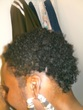 castor oil and leave in conditioner - short hair styles