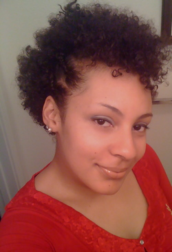 Partial Fro Hawk - Brunette, Short hair styles, Readers, Female, Curly hair, Black hair, Adult hair hairstyle picture