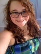 glasses  curly hair  round face  good combo -