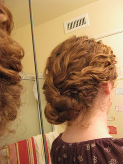 Braided chignon - Wedding hairstyles, Readers hairstyle picture