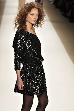 Tibi Fall 2010 - Courtesy of Runway Weekly - 3a, Styles, Female, Curly hair, Adult hair, Formal hairstyles hairstyle picture