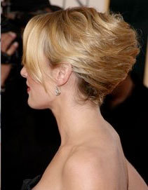 French Twist - Blonde, Wedding hairstyles, Adult hair, Straight hair, Prom hairstyles, Formal hairstyles, Homecoming hairstyles, Knots, Buns, Nubian twists hairstyle picture