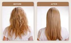 Brazilian Blowout Straightening - Wavy hair, Long hair styles, Female, Makeovers, Adult hair, Straight hair hairstyle picture