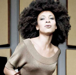 Esperanza Spalding - Brunette, Celebrities, Kinky hair, Long hair styles, Female hairstyle picture