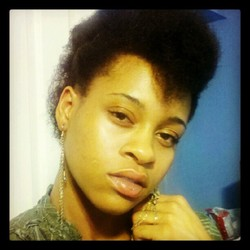 My Puffy Mohawk! - 4a, Celebrities, Medium hair styles, Afro, Wedding hairstyles, Readers, Female, Makeovers, Black hair, Adult hair, Prom hairstyles, Formal hairstyles, Homecoming hairstyles hairstyle picture