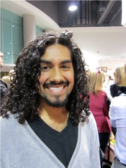 International Salon and Spa Expo 2011 - Male, Long hair styles, Curly hair, Black hair, Adult hair, Textured Tales from the Street hairstyle picture