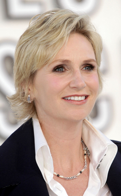 Jane Lynch - Blonde, Celebrities, Wavy hair, Mature hair, Short hair styles, Female, Adult hair hairstyle picture