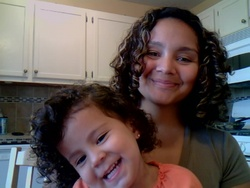 Curls for Generations to Come! - Brunette, Medium hair styles, Kids hair, Readers, Crazy Curls Contest, Female, Curly hair hairstyle picture