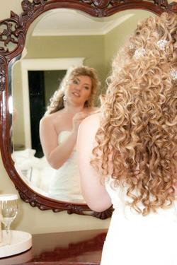 My hair on my wedding day -  hairstyle picture