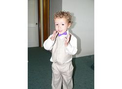 Ready to be the Ring Bearer  - Male, Readers, Eyes on the Guys hairstyle picture
