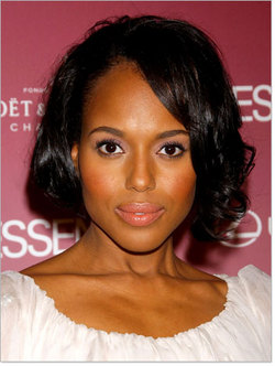 Kerry Washington - Celebrities, Kinky hair, Female, Pin curls hairstyle picture