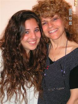Curly from Israel - Brunette, Blonde, Mom's Day, 2b, 3a, Medium hair styles, Long hair styles, Readers, Female, Curly hair hairstyle picture