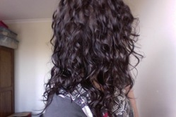 Loving my natural 2c curls -  hairstyle picture