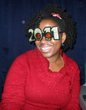 this is my braid out for new years - 2010 holiday photos