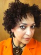 my bantu knot out blow dried 4b hair -