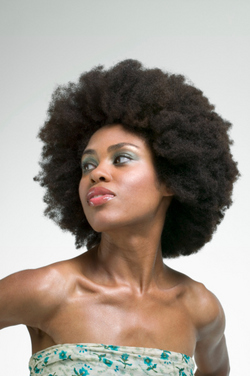 4c - Brunette, Medium hair styles, Kinky hair, Afro, Styles, Female, Adult hair, 4c hairstyle picture