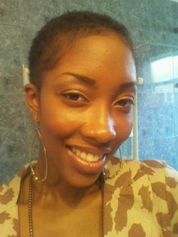Big Chopped 5/29/13, and I love it! 100% natural girl - 4a, 4b, Short hair styles, Afro, Female, Makeovers hairstyle picture