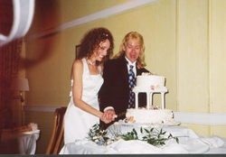 cutting the cake! - Wedding hairstyles, Readers hairstyle picture