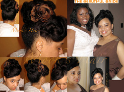 Bridesmaid style - Wedding hairstyles, Readers hairstyle picture