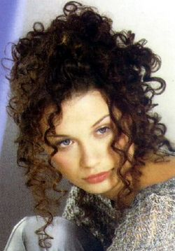 stunning pic i found - 3b, Updos, Long hair styles, Curly hair, Adult hair hairstyle picture