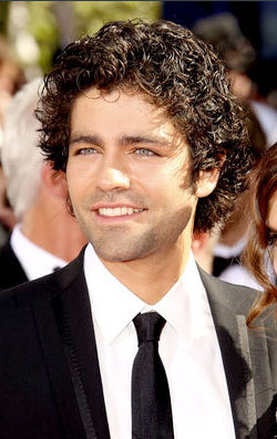 Adrien Grenier - Brunette, Celebrities, Male, Short hair styles, Curly hair, 2009 Emmy Awards hairstyle picture