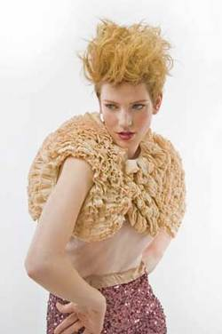 A Look for Shea by Sam Villa - Blonde, Blonde, Updos, Styles, Styles, Special occasion, Female, Female hairstyle picture