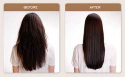 Brazilian Blowout Straightening - Brunette, Long hair styles, Female, Makeovers, Adult hair hairstyle picture