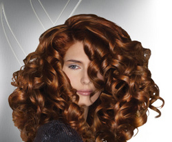 Nexxus  - Redhead, 2b, Medium hair styles, Styles, Female, Curly hair hairstyle picture
