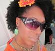 my 1st stretched curly firece fro - curly kinky hair