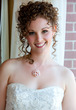 my wedding day hair - spiral curls