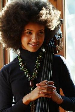Esperanza Spalding - Brunette, 4a, 4b, Celebrities, Medium hair styles, Afro, Female hairstyle picture