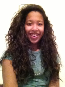 My natural side part curls - Brunette, Long hair styles, Readers, Female, Curly hair, Teen hair, Makeovers, Black hair hairstyle picture