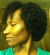 my wash and go - Curly kinky hair