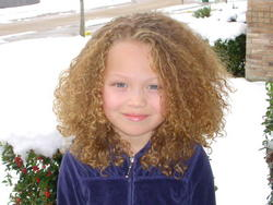 My mom says I have to always love my curls because they are what makes me who God intended me to be. - Blonde, 3b, Medium hair styles, Kids hair, Readers, Female, Curly hair, Layered hairstyles hairstyle picture