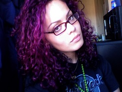 Purple Passion - Redhead, 3b, Medium hair styles, Readers, Female, Curly hair hairstyle picture
