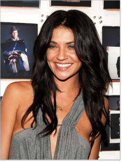 Jessica Szohr - Celebrities, Long hair styles, Female, Curly hair, Black hair hairstyle picture